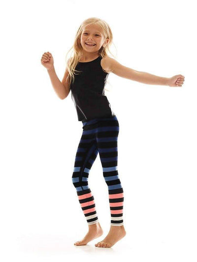 Kids Legging in Molly Stripe - KIDS LEGGINGS