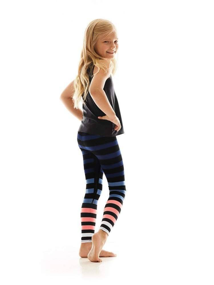 Kids Legging in Molly Stripe
