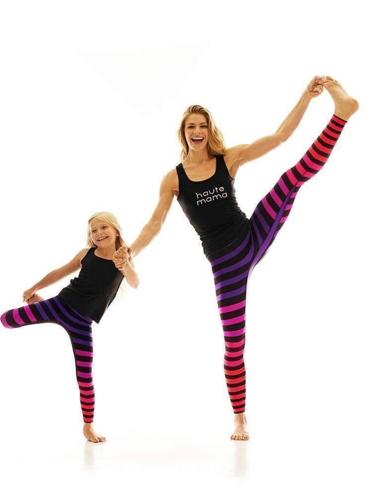 Kids Legging in Sophia Stripe - Kids Leggings
