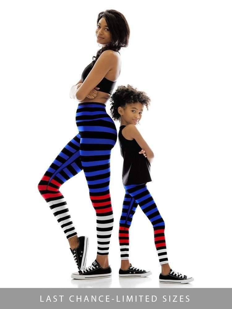 Kids Legging in Susanne Stripe