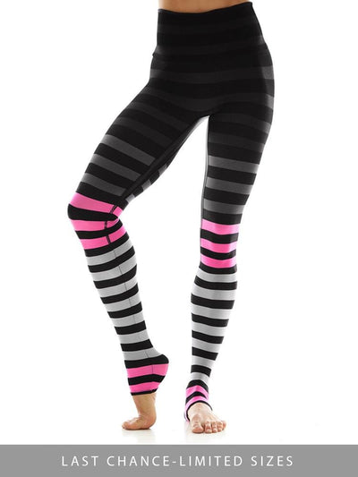 Legging in April Stripe