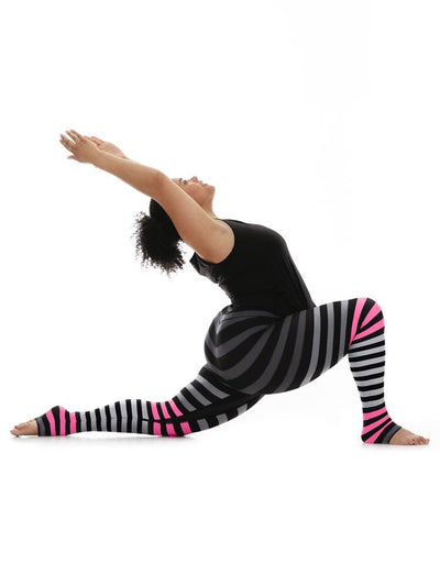 Legging in April Stripe - LEGGINGS