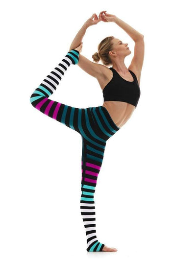 Legging in Candice Stripe - LEGGINGS