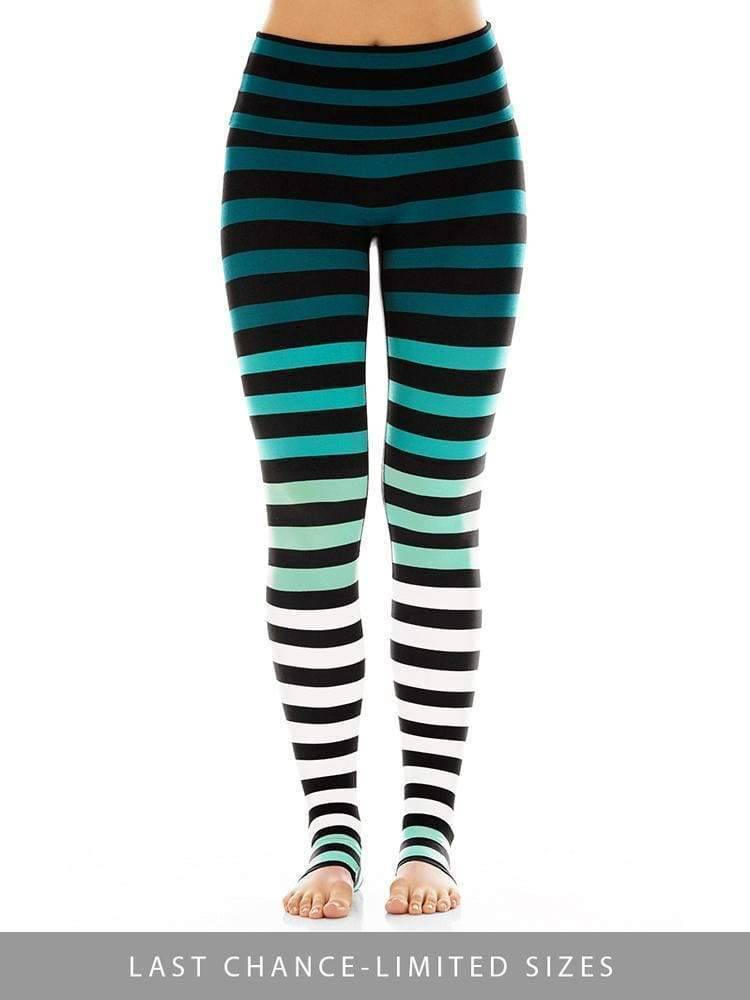 Legging in Caroline Stripe - Leggings