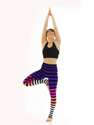 Legging in Colleen Stripe - LEGGINGS