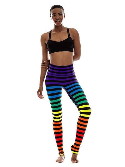 Legging in Dana Stripe - LEGGINGS