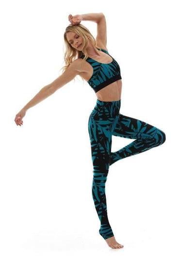 Legging in Laguna - LEGGINGS