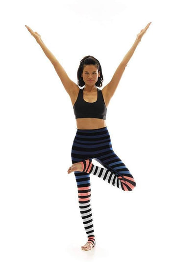 Legging in Molly Stripe - LEGGINGS