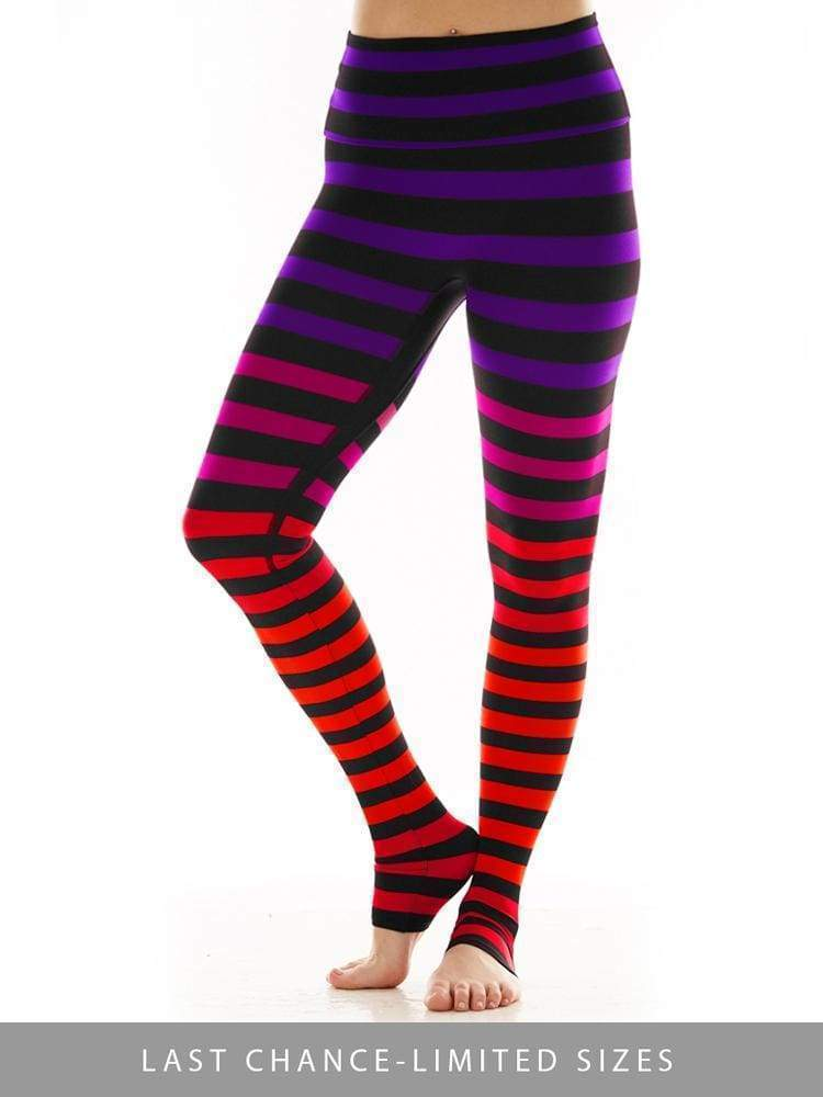 Legging in Sophia Stripe