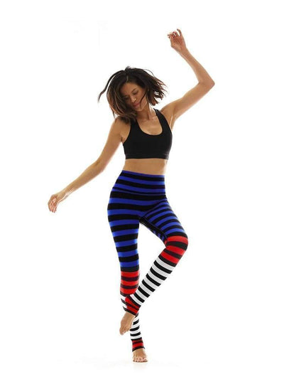 Legging in Susanne Stripe - Leggings