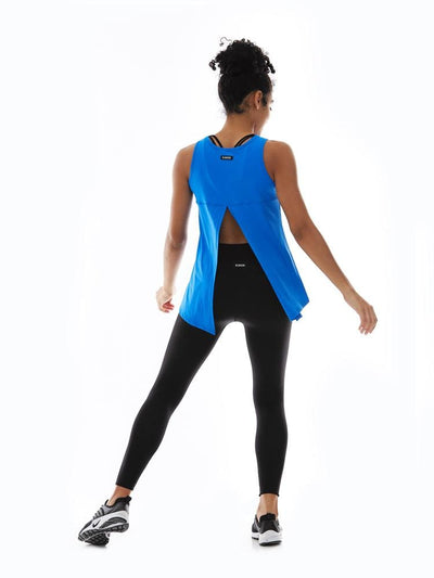 Microflex Hero Tank in Peri - TRICOTS TOPS