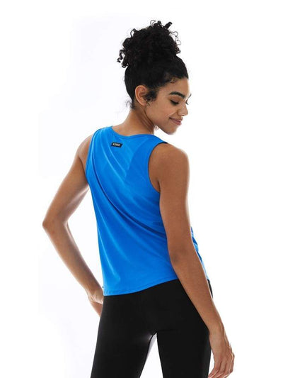 Microflex Muscle Tank in Peri - TRICOTS TOPS