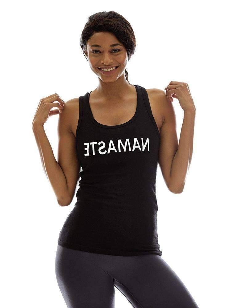 Namaste (Mirrored) Tank - Tank Top