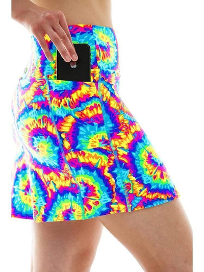 Pocket Skort in Tutti Fruitti
