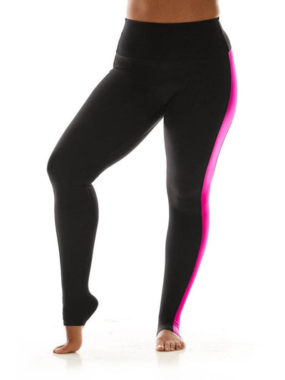 Racerback Legging in Magenta - LEGGINGS
