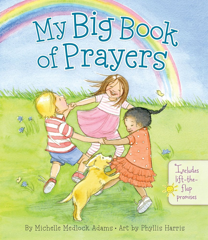 My Big Book of Prayers - Signed by the Illustrator - Board book for babies and toddlers