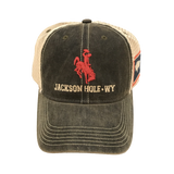 JH Bronco Flag Side Hat