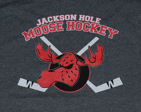 Long-Sleeve Moose Hockey