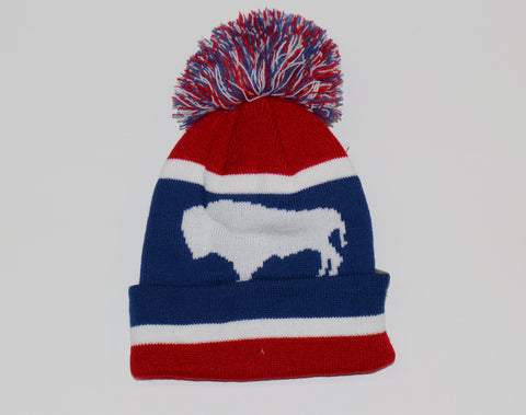 Toddler Wyoming Flag Beanie - 7151