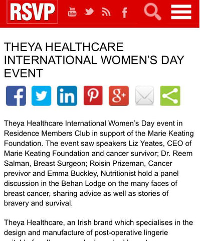 THEYA Healthcare in RSVP Magazine