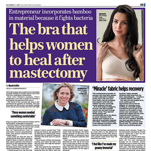 The bra that helps women heal after mastectomy