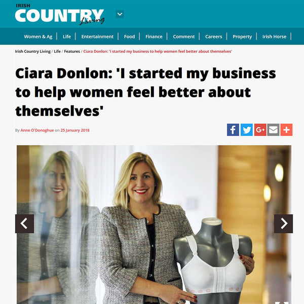 Ciara Donlon: 'I started my business to help women feel better about themselves