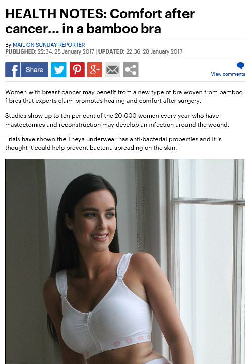 Comfort after cancer... in a bamboo bra, Mail on Sunday