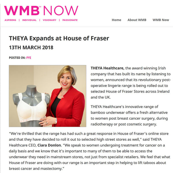 THEYA Expands at House of Fraser