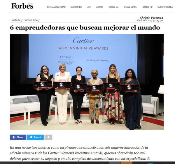 THEYA Healthcare in Forbes Magazine