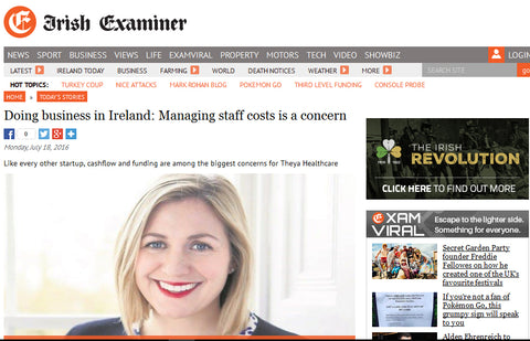 picture of page in Irish Examiner