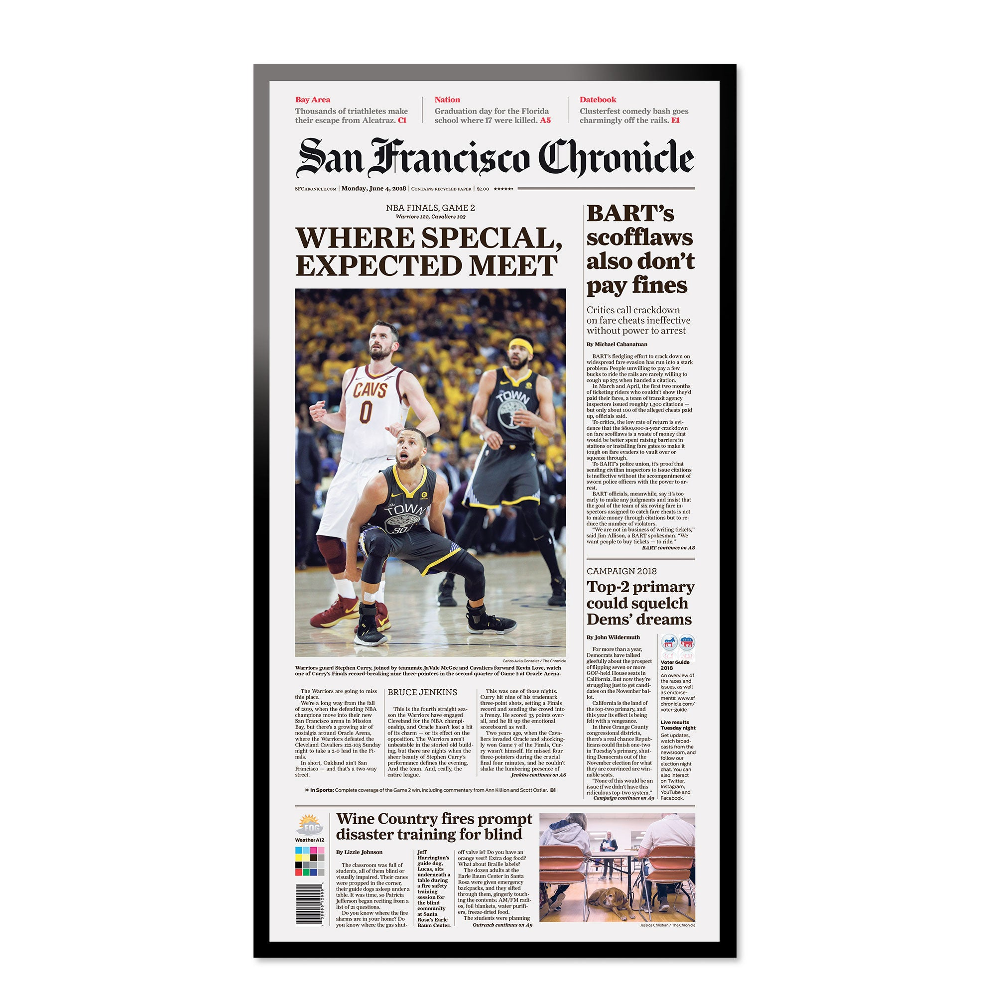 Warriors! - San Francisco Chronicle online store