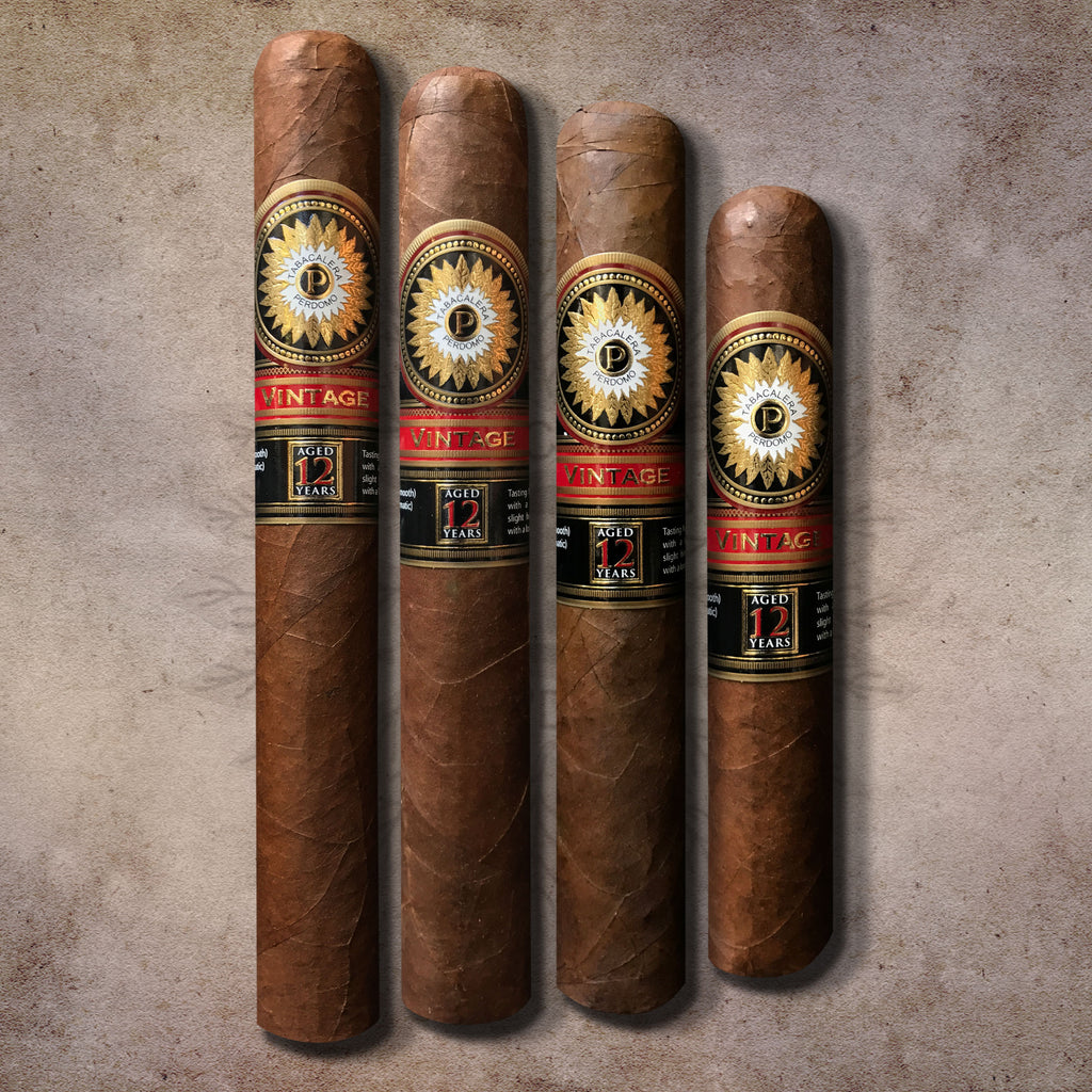 Perdomo 12 Year Double Aged Vintage Sungrown 4 Cigar Collection