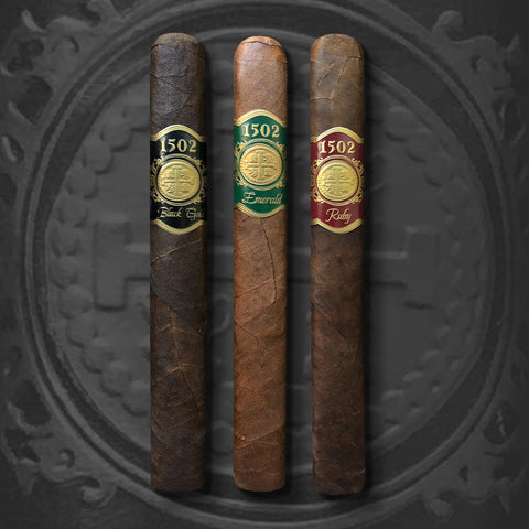 1502 3 Box-Pressed Cigar Sampler by 1502