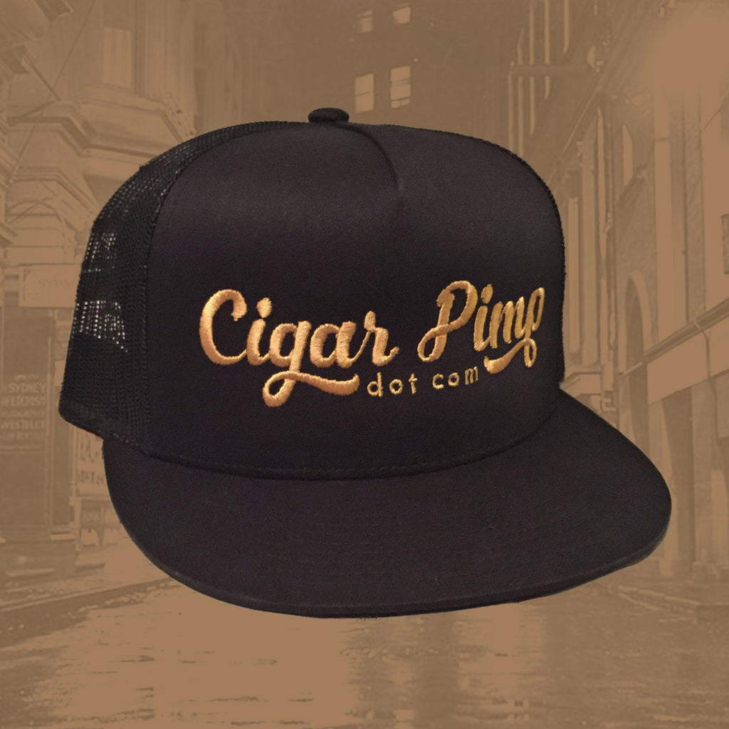 Cigar Pimp Trucker Hat