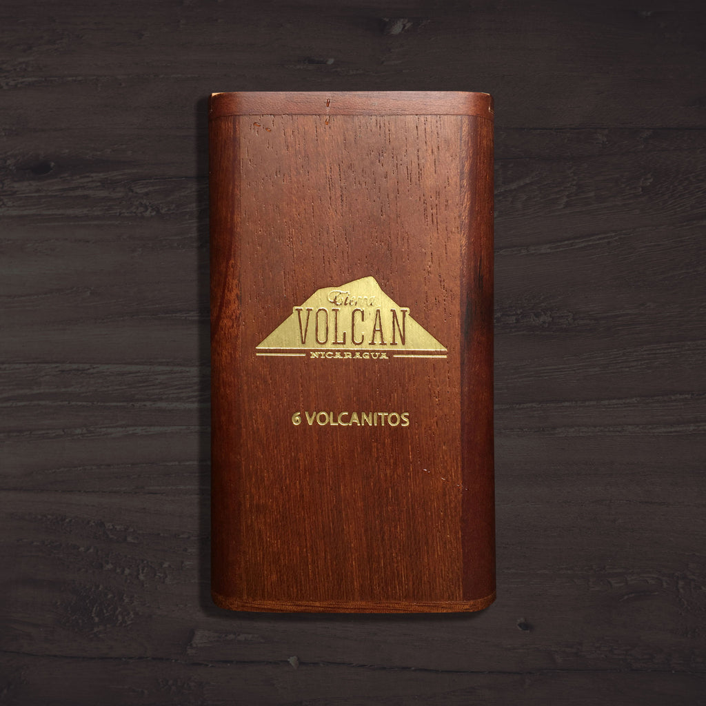 Mombacho Volcanitos 6 Cigar Pack (with reusable case)