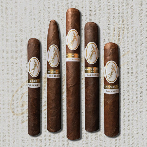 Davidoff 702 Series (5 Cigar Selection)