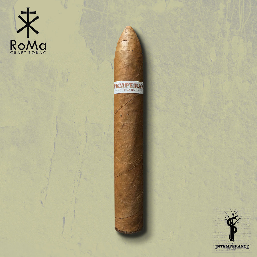 "Intemperance EC XVIII ""The Industry"" (5.5 x 54) Cigar by RoMa Craft Cigars"