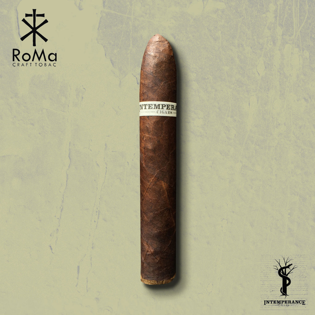 "Intemperance BA XXI ""The Ambition"" (5.5 x 54) Cigar by RoMa Craft Cigars"