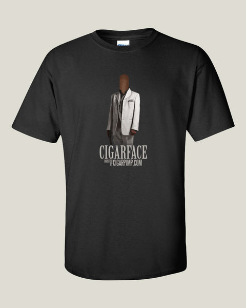 Cigar Pimp CigarFace T-Shirt