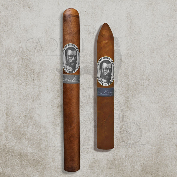 The Last Tsar 2 Cigar Sampler (1 Belicoso + 1 Churchill) by Caldwell Cigar Co.