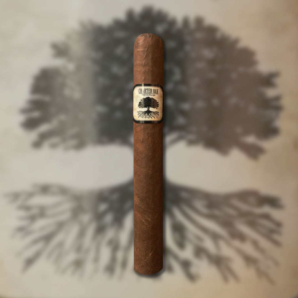 Charter Oak Maduro Toro (6 x 52) Cigar by Foundation Cigar Co. (Made at AJ Fernandez Factory)