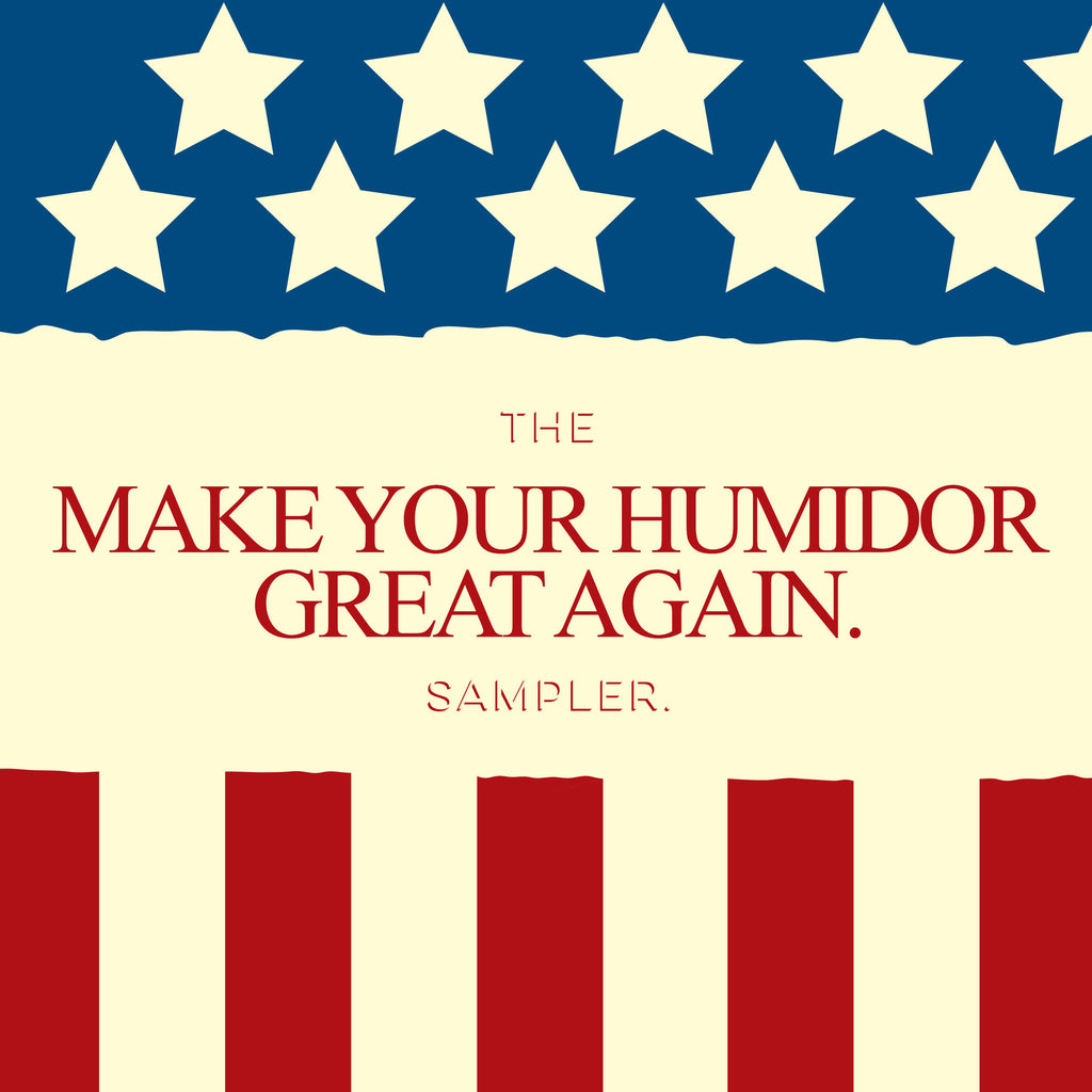 "The ""Make Your Humidor Great Again"" 4 Cigar Sampler"