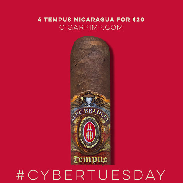CYBER TUESDAY Tempus Nicaragua Medius 6 (4 Cigars for $20) CYBER WEEK DEAL!