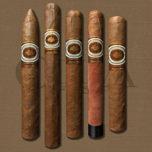 Gilberto Reserva Blanc 5 Cigar Collection by Oliva Cigars