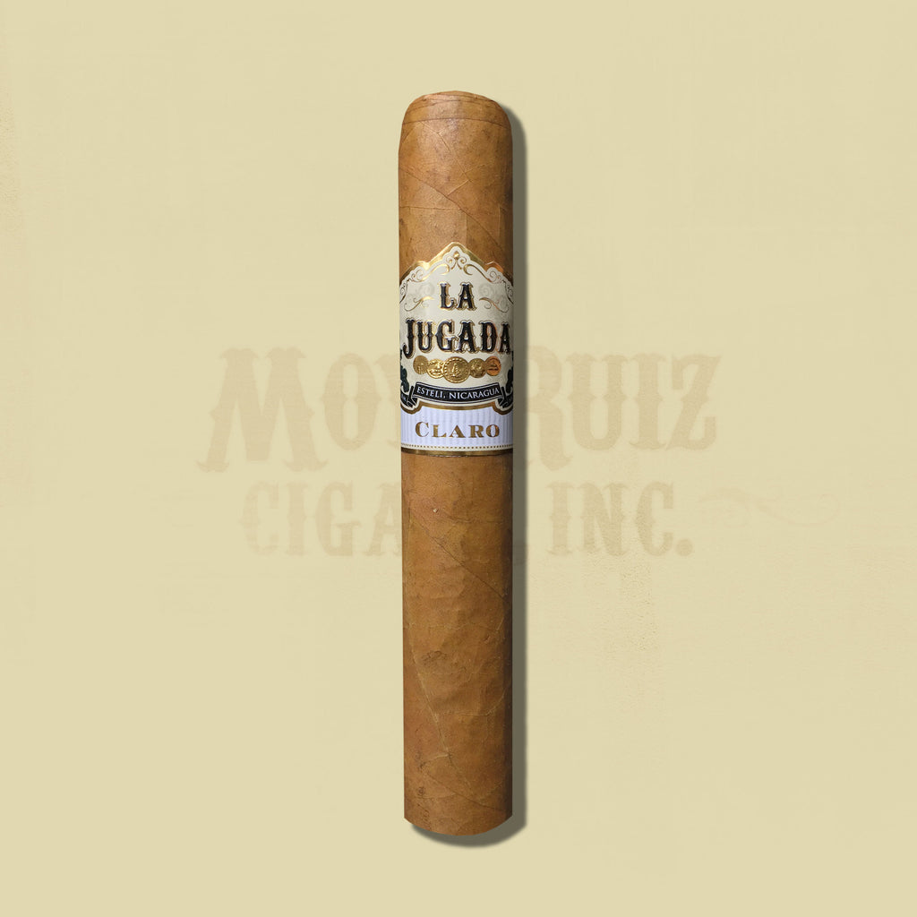 La Jugada Claro No. 8 (6.125 x 58 Gordo) Cigar by MoyaRuiz
