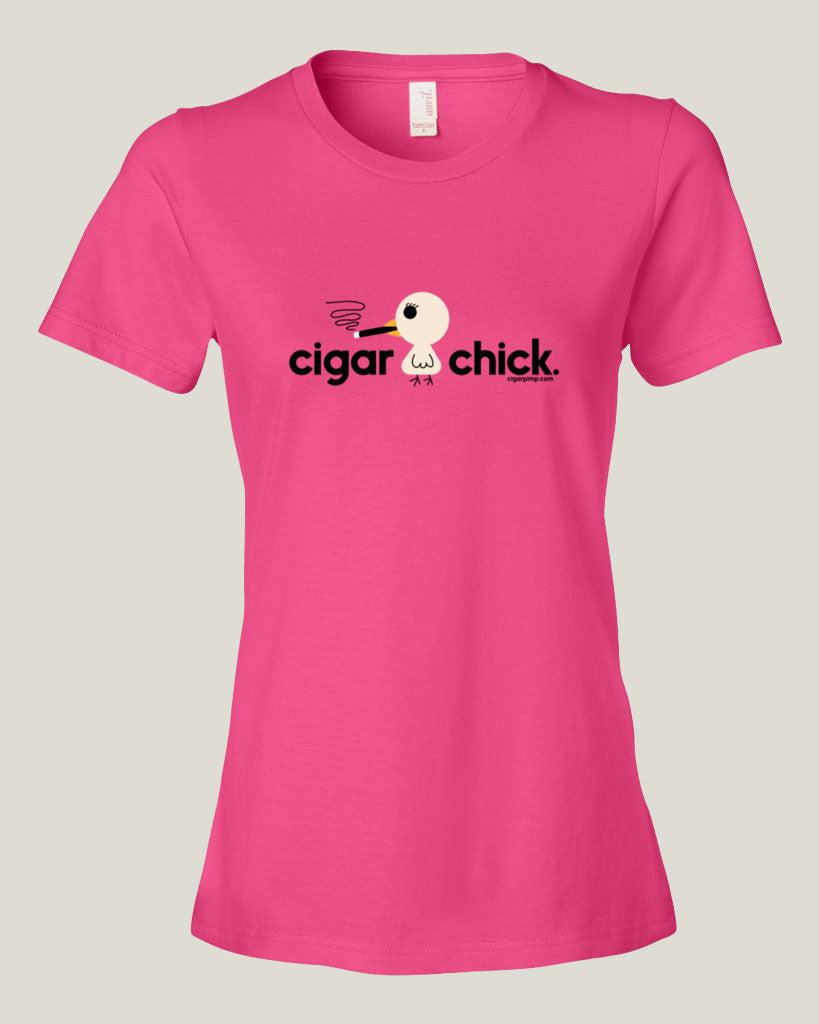 Cigar Chick t-shirt