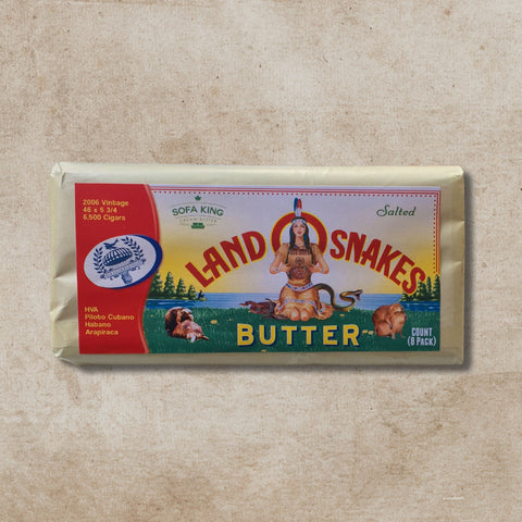 "PCS ""Butter"" Land O' Snakes Cigars (8 Pack) by Lost & Found (Bellatto, Caldwell and Sears)"