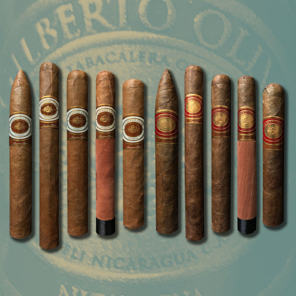 Gilberto Reserva Sumatra & Blanc 10 Cigar Collection by Oliva Cigars