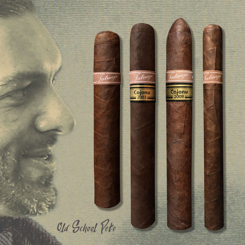 "Tatuaje ""Old School Pete"" Collection (4 classic cigars at great price)"