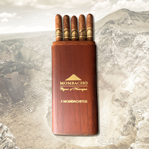 Mombachito Pack (5 Cigars) by Mombacho Cigars (formerly known as Volcanitos)